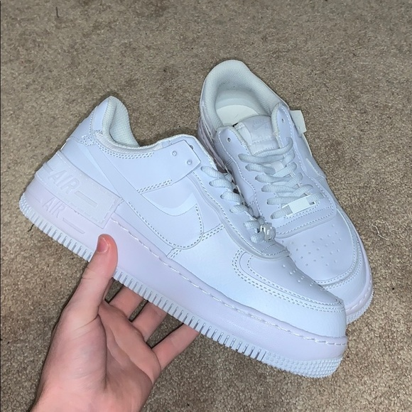 Nike Shoes Womens 9 Af1 Shadow Triple White Poshmark Invited by kixify, we are located in taiwan and we are committed to providing quality shoes from nike, adidas, puma, and many other brands. poshmark